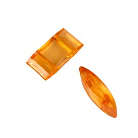 Carrier Beads 17x9mm Oranje
