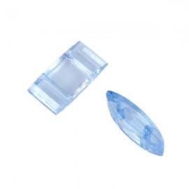 Carrier Beads 17x9mm Lichtblauw