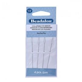 Beadalon® Collapsible Eye Needles Fine 6,4cm