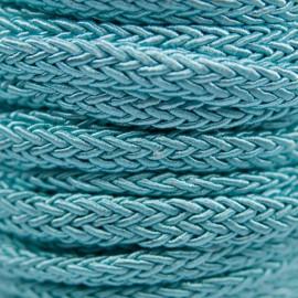 Gevlochten Koord 7mm Aqua