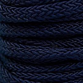 Gevlochten Koord 7mm Donkerblauw
