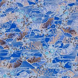 Washi Yuzen Blauw