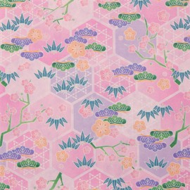 Origamipapier Evergreen Roze