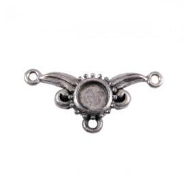 Tussenzetsel Kastje Antiek Zilver