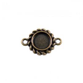 Tussenzetsel Kastje Klassiek 15mm Brons