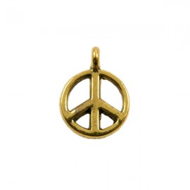 """Bedel """"Peace"""" Antiek Goud"""