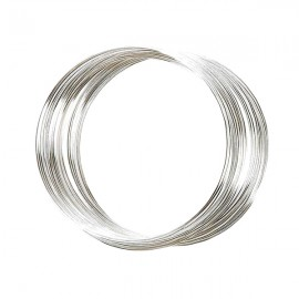 Armbandspiraal ø60mm Nikkelkleur