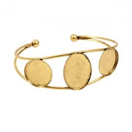Armband met Kastjes Antiek Goud