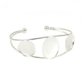 Armband met Kastjes Zilver