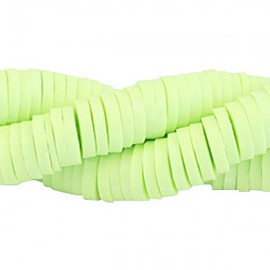 Katsuki 6mm Pastel Lime Green