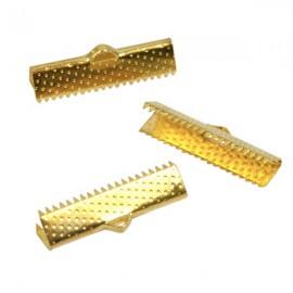 Lintklem 25mm Goud