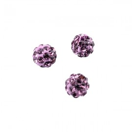 Polymeerkraal 6mm Light Amethyst