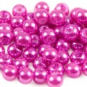 Glasparel 6mm Rond Fuchsia