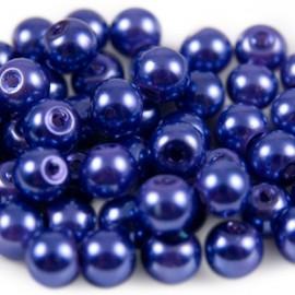 Glasparel 6mm Rond Blauw