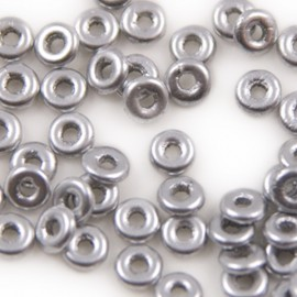 O Bead Aluminum Silver