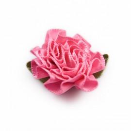 Satijnen Rozetje Roze