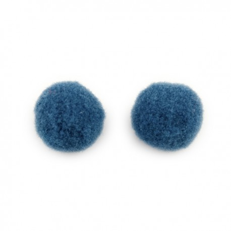 Pompon 15mm Denim