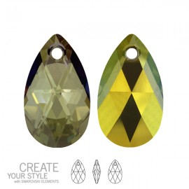 Swarovski 6106 Crystal Iridescent Green