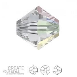 Swarovski Bicone 3mm Crystal AB