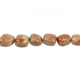Autumn Jaspis Pebble 7-9mm