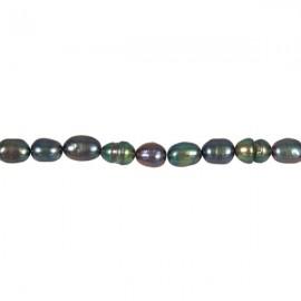Zoetwaterparel Rijst 6-7 mm Zwart