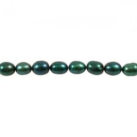Zoetwaterparel Rijst 7-9 mm Donkerblauwgroen