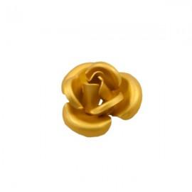 Roosje Metaal 12mm Goudgeel