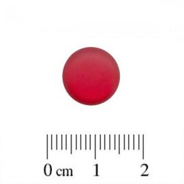 Polaris Cabochon Rond 12mm Matte Siam