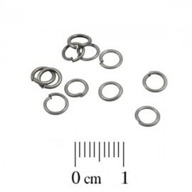 Montagering 5mm Mat Zilver