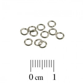Montagering 4mm Nickel Plated