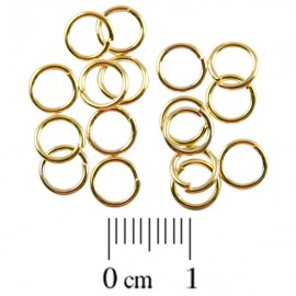 Montagering 6mm Goud