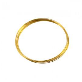 Armbandspiraal ø60mm Goud