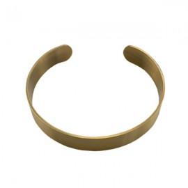 Armband RVS 18,5cm Brons