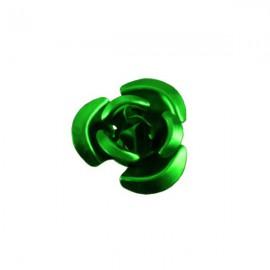 Roosje Metaal 12mm Groen