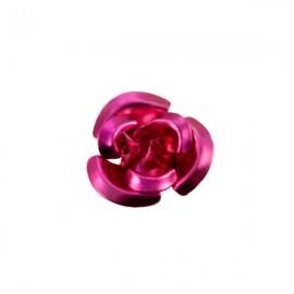 Roosje Metaal 12mm Fuchsia