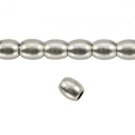 Metaal Ovaal 4,5x4mm Antiek Zilver