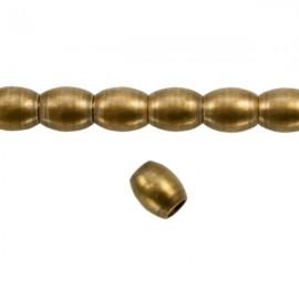 Metaal Ovaal 4,5x4mm Brons