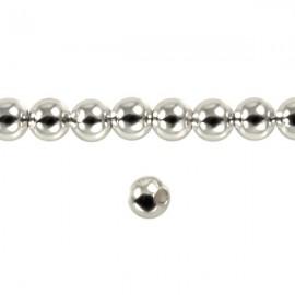 Metaal Rond 4mm Zilver