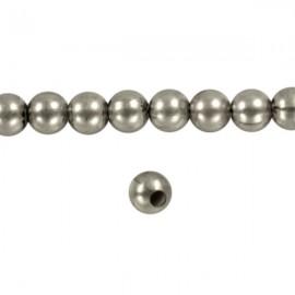 Metaal Rond 4mm Antiek Zilver