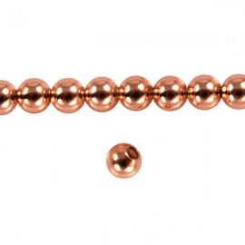 Metaal Rond 4mm Rosé Goud