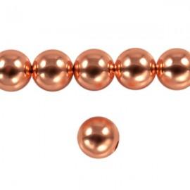 Metaal Rond 8mm Rosé Goud