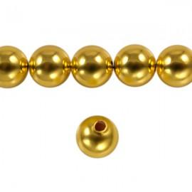 Metaal Rond 8mm Goud