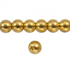 Metaal Rond 6mm Goud