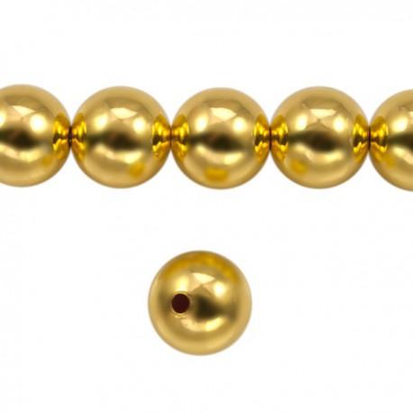 Metaal Rond 10mm Goud