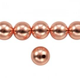 Metaal Rond 10mm Rosé Goud