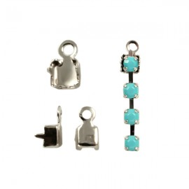 Eindklem voor 2mm Cupchain