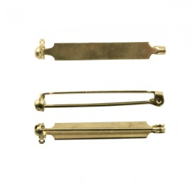 Brochespeld 38mm Goud