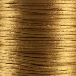 Satijnkoord 1,5mm Goud