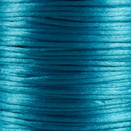 Satijnkoord 1,5mm Hemelsblauw