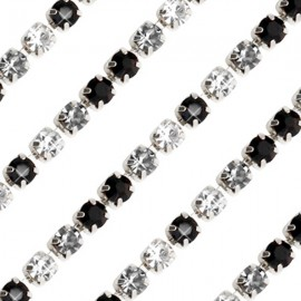 Cupchain S - 3mm Black Crystal Mix